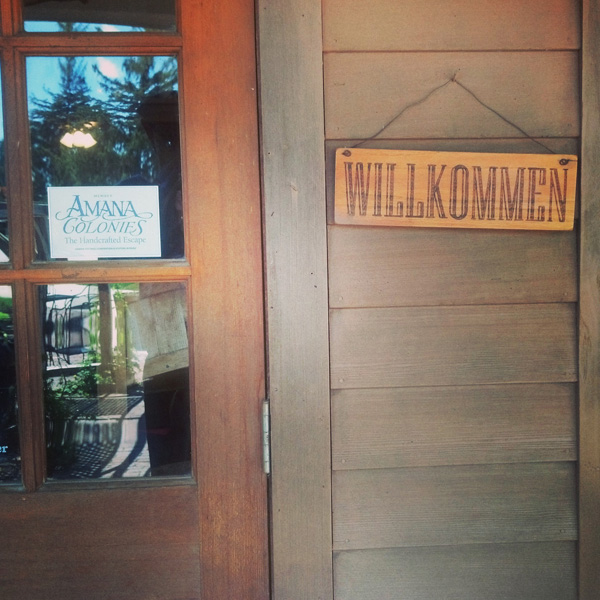 willkommen to the amana colonies // LLinaBC.com