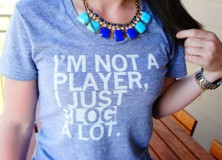 I'm not a player.