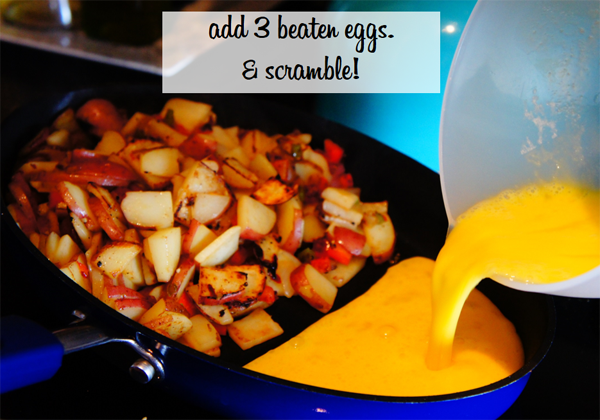 make-your-own breakfast skillet // LLinaBC.com
