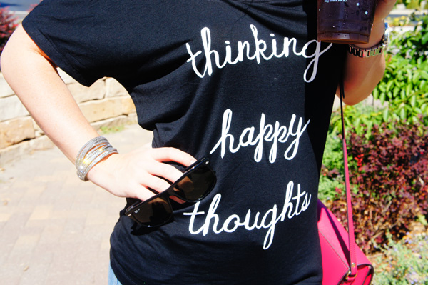 think happy thoughts // LLinaBC.com