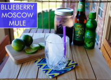 blueberry moscow mule.