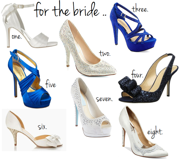 for the bride shoes // LLinaBC.com