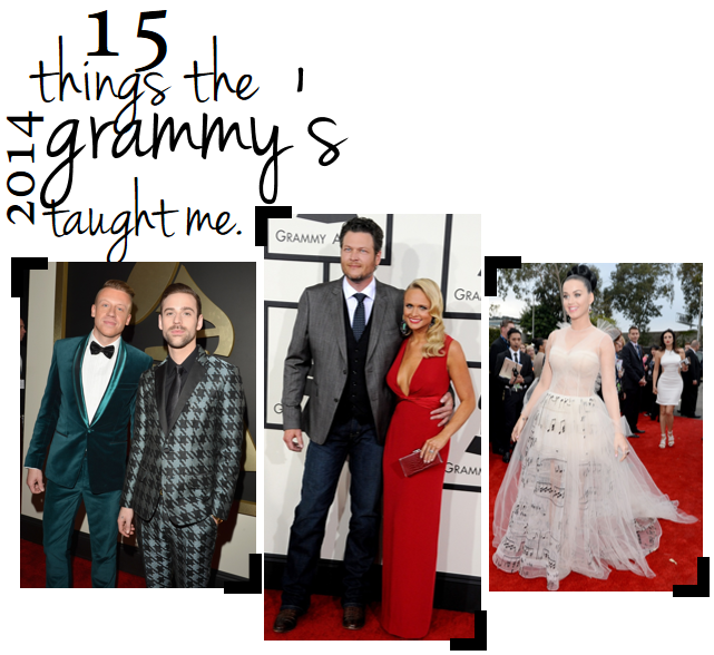 15 tips from the Grammy's // LLinaBC.com