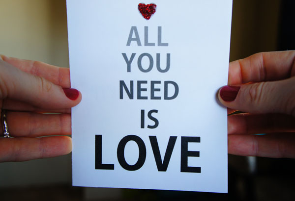 all you need is love // LLinaBC.com
