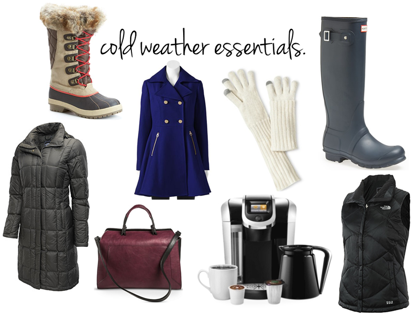 cold weather essentials c/o LLinaBC.com