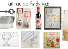 gift guide: for the host.