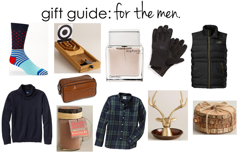 gift guide: for the men c/o LLinaBC.com