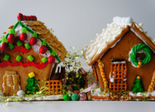 gingerbread land.